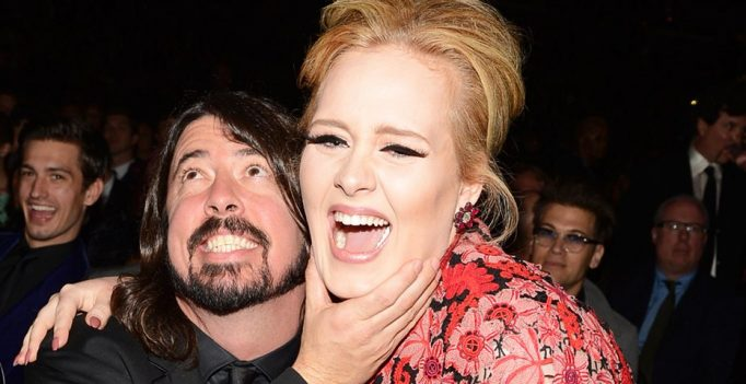 dave grohl e adele